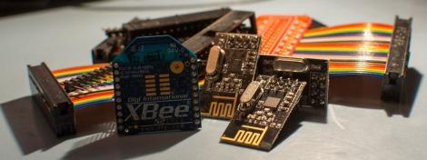 Xbee nRf24L01+ Pi breakout cables